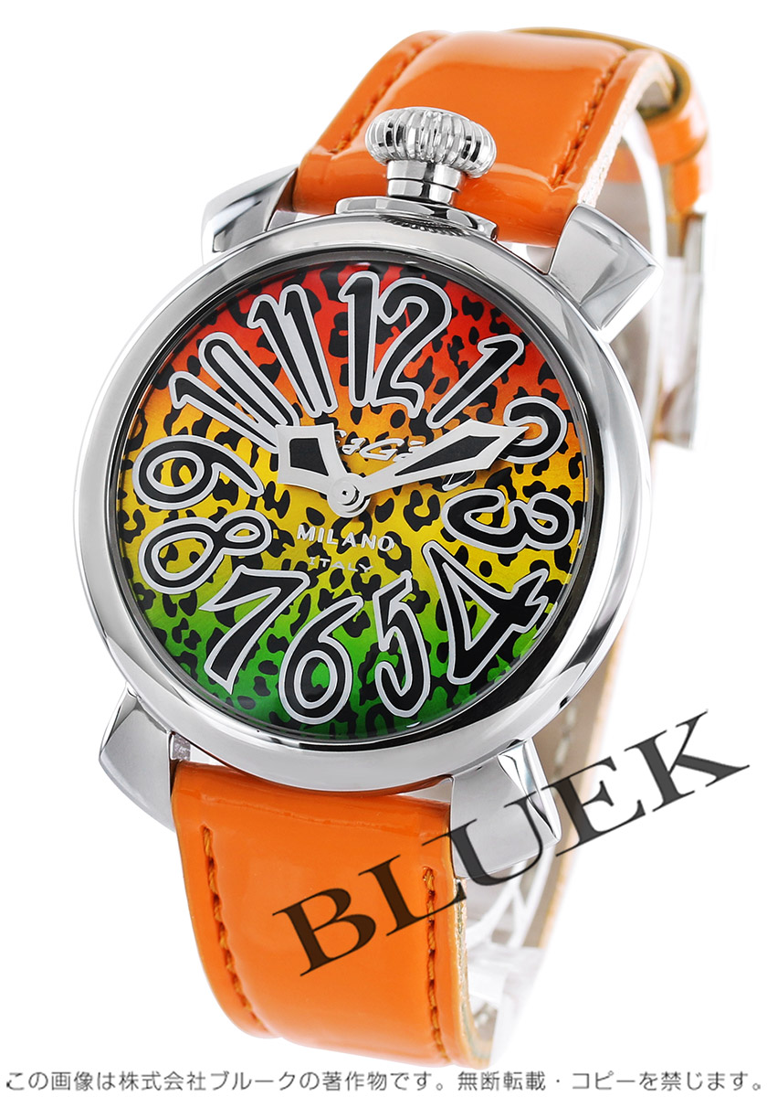 【1,000円OFFクーポン対象】ガガミラノ マヌアーレ40MM アニマーレ 限定500本 腕時計 ユニセックス GaGa MILANO 5020 ART 01