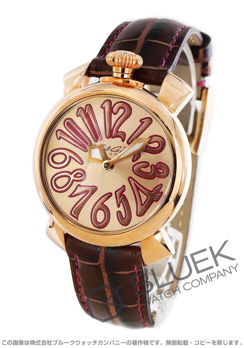 ガガミラノ マヌアーレ40MM 腕時計 ユニセックス GaGa MILANO 5021.8