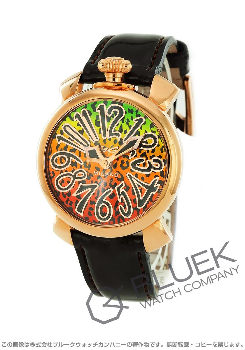 ガガミラノ マヌアーレ40MM アニマーレ 限定500本 腕時計 ユニセックス GaGa MILANO 5021 ART 01