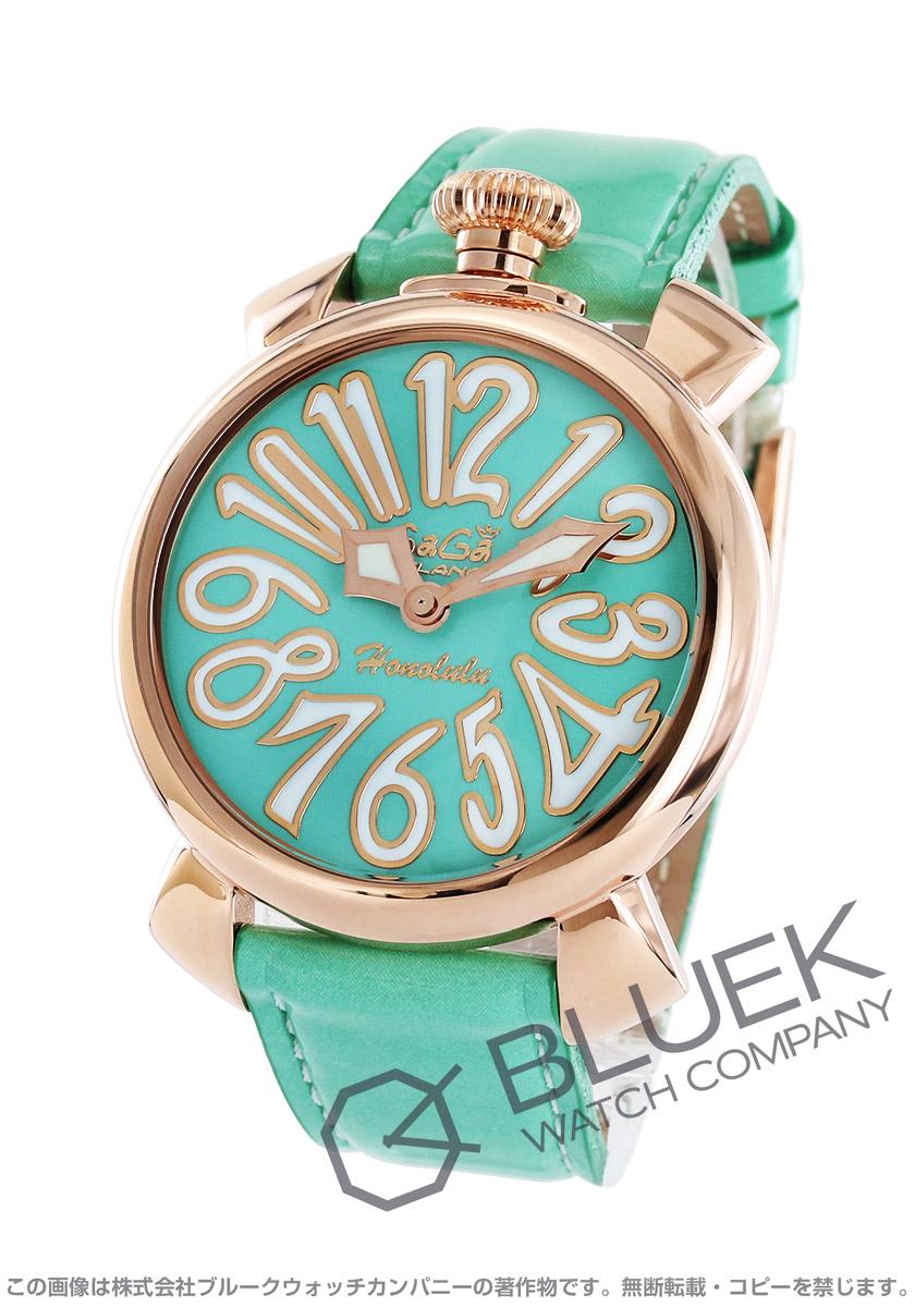 ガガミラノ マヌアーレ40MM ホノルル限定300本 腕時計 ユニセックス GaGa MILANO 5021.L.E.HO.2