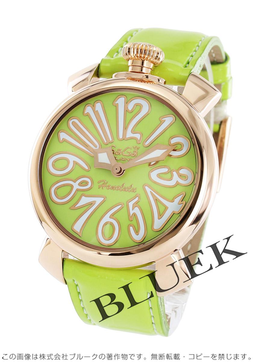 【最大3万円割引クーポン 11/01~】ガガミラノ マヌアーレ40MM ホノルル限定300本 腕時計 ユニセックス GaGa MILANO 5021.L.E.HO.3
