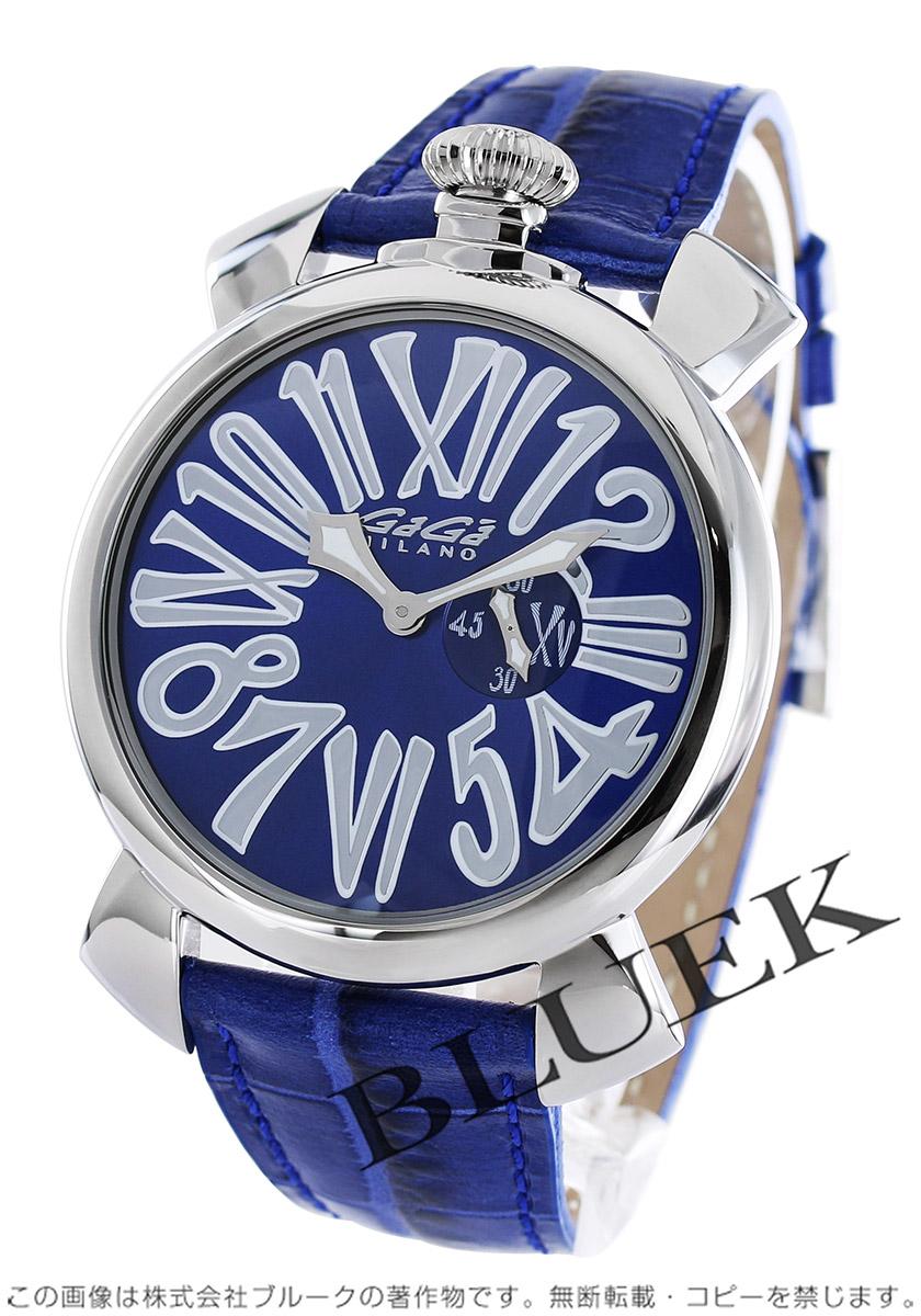 promo code 396e1 810a7 ガガミラノ スリム46MM 腕時計 メンズ GaGa MILANO 5084.3 ブルークウォッチカンパニー