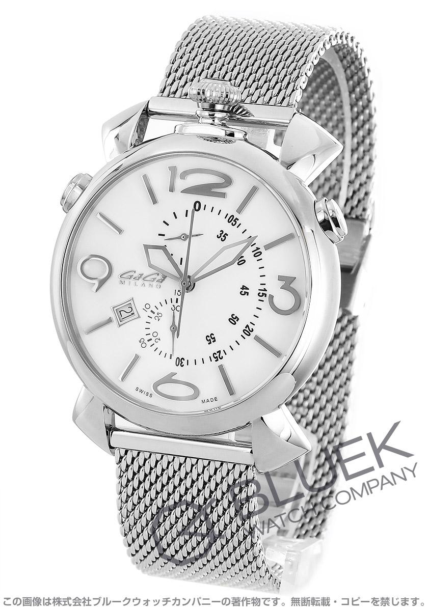 ガガミラノ シン クロノ46MM クロノグラフ 腕時計 メンズ GaGa MILANO 5097.02