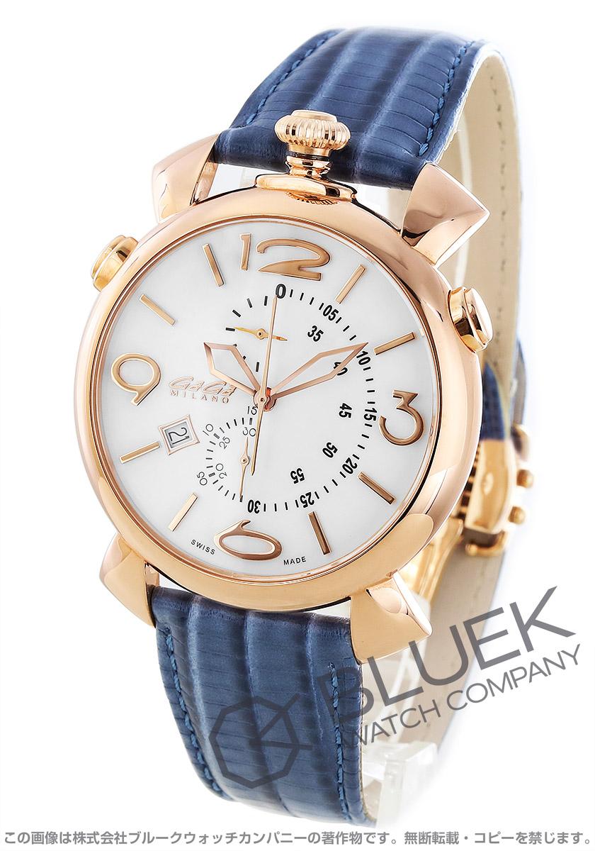 ガガミラノ シン クロノ46MM クロノグラフ 腕時計 メンズ GaGa MILANO 5098.01