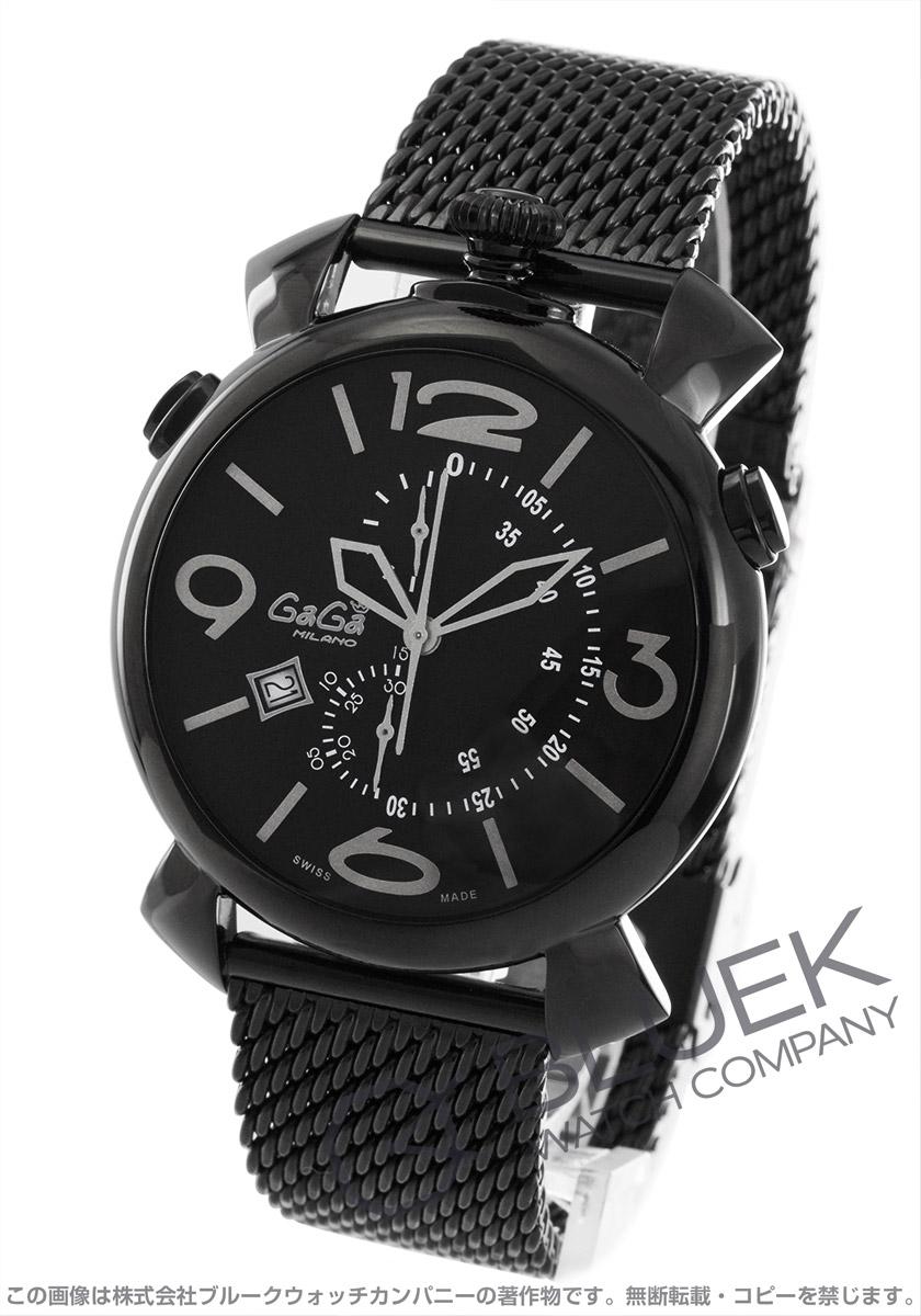 【最大3万円割引クーポン 11/01~】ガガミラノ シン クロノ46MM クロノグラフ 腕時計 メンズ GaGa MILANO 5099.01BR