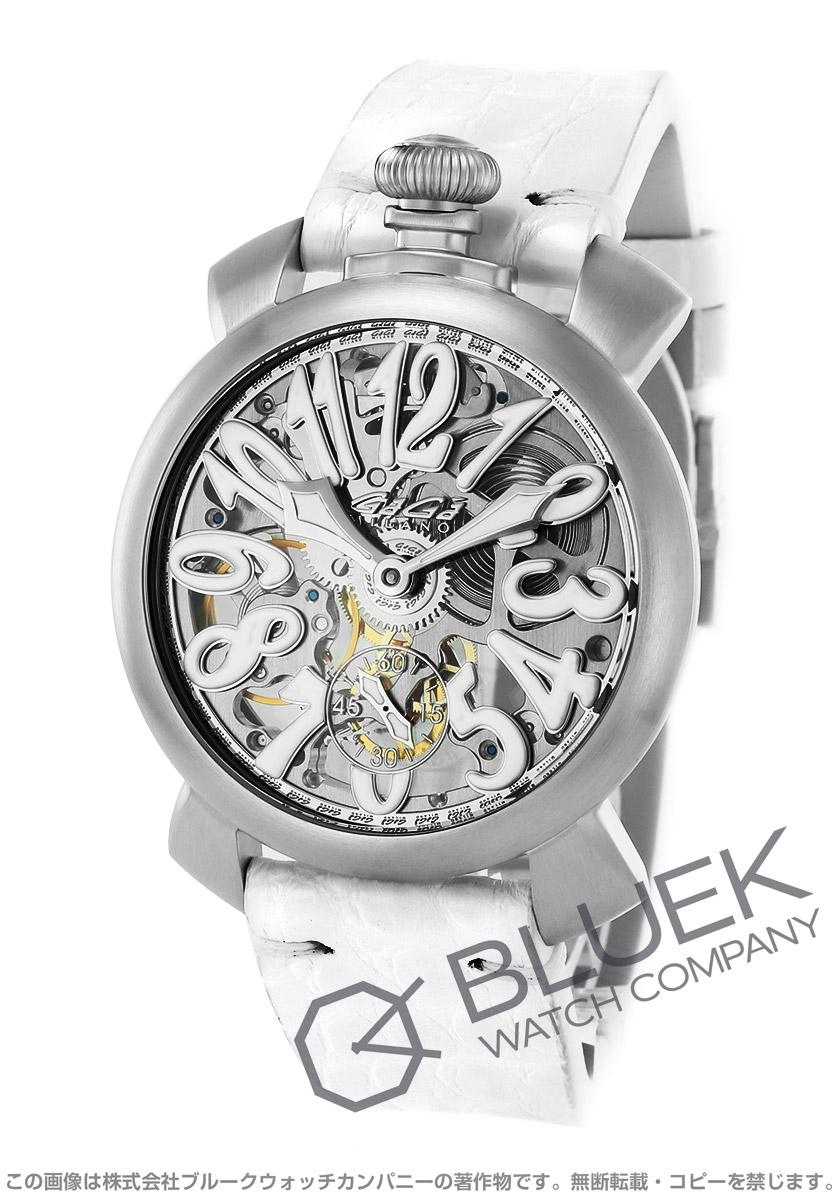 ガガミラノ マヌアーレ48MM スケルトン 腕時計 メンズ GaGa MILANO 5310.01S
