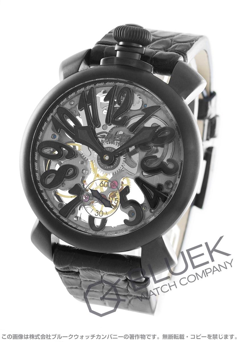 ガガミラノ マヌアーレ48MM スケルトン 腕時計 メンズ GaGa MILANO 5312.01