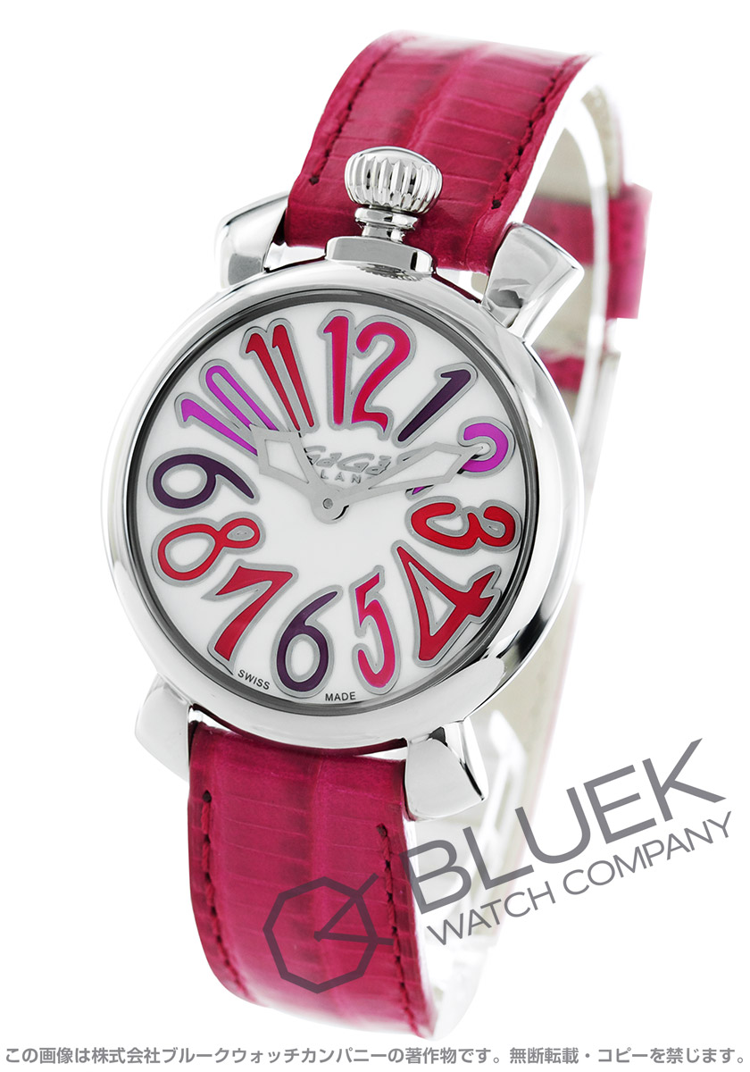 【最大3万円割引クーポン 11/01~】ガガミラノ マヌアーレ35MM 腕時計 レディース GaGa MILANO 6020.04LT