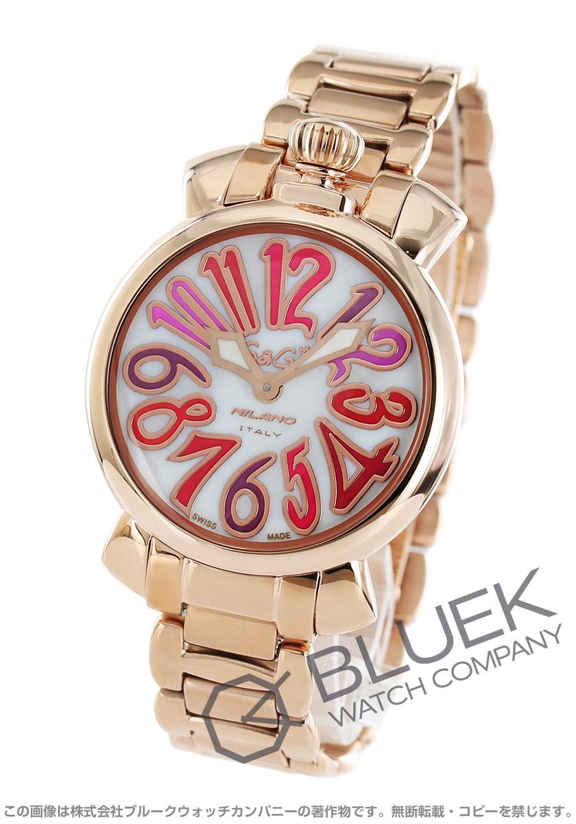 low priced a3379 3e4a0 ガガミラノ マヌアーレ35MM 腕時計 レディース GaGa MILANO 6021.3|ブルークウォッチカンパニー
