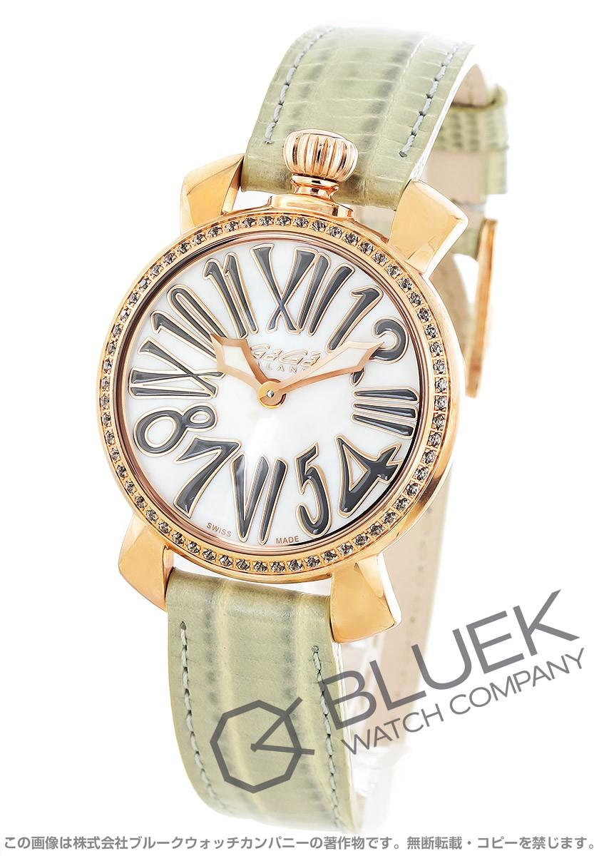ガガミラノ マヌアーレ35MM 腕時計 レディース GaGa MILANO 6026.03
