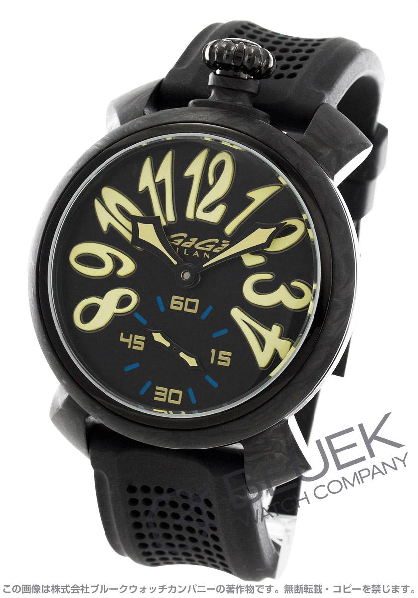 ガガミラノ マヌアーレ48MM カーボン 世界限定300本 腕時計 メンズ GaGa MILANO 6062.01S