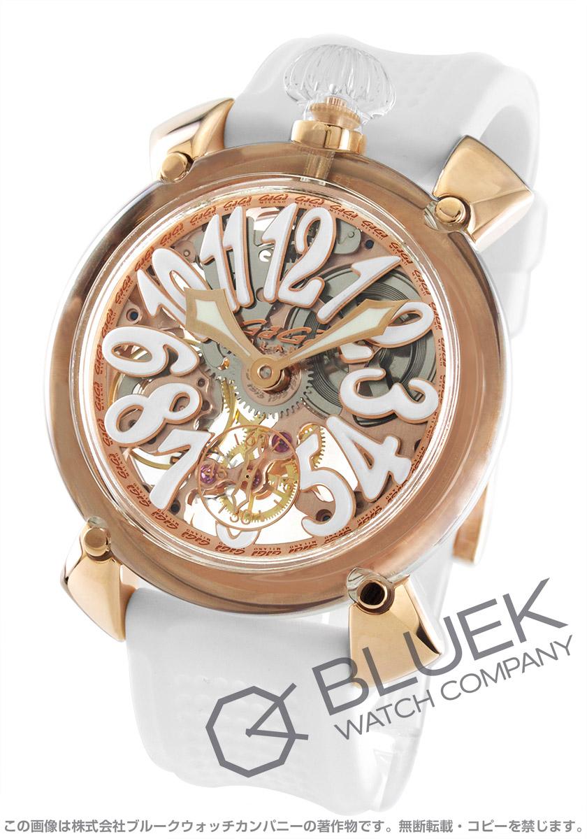ガガミラノ マヌアーレ48MM クリスタル 腕時計 メンズ GaGa MILANO 6091.03 バーゲン 成人祝い ギフト プレゼント