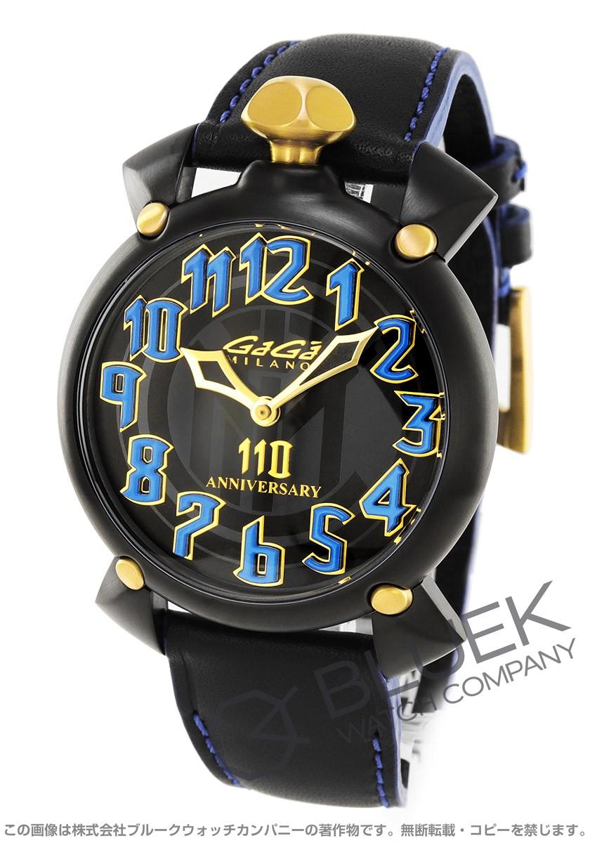 ガガミラノ マヌアーレ46MM 世界限定110本 腕時計 メンズ GaGa MILANO 6314.110