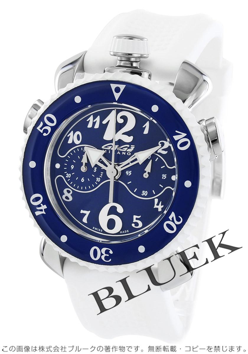 ガガミラノ クロノ スポーツ45MM クロノグラフ 腕時計 メンズ GaGa MILANO 7010.01 バーゲン 成人祝い ギフト プレゼント
