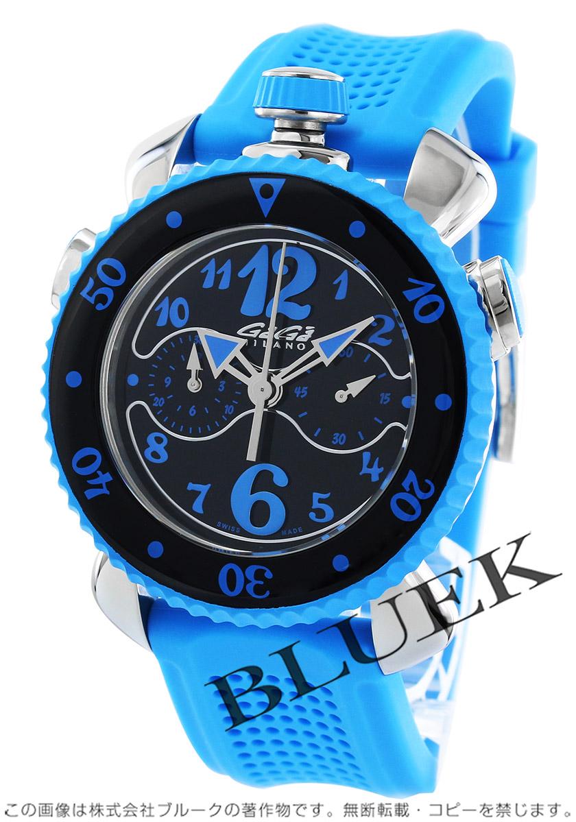 ガガミラノ クロノ スポーツ45MM クロノグラフ 腕時計 メンズ GaGa MILANO 7010.03