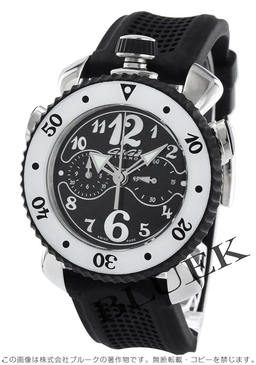 ガガミラノ クロノ スポーツ45MM クロノグラフ 腕時計 メンズ GaGa MILANO 7010.08 バーゲン 成人祝い ギフト プレゼント