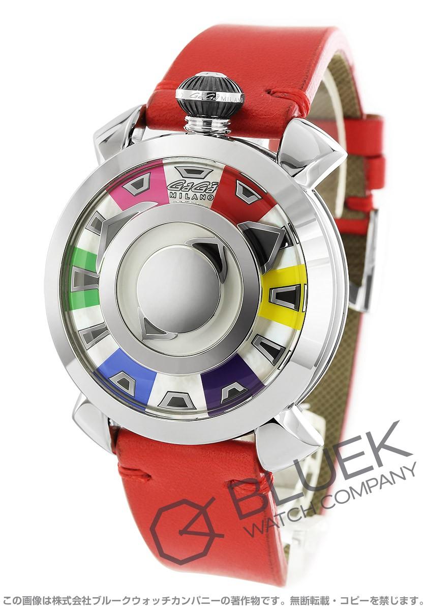 【1,000円OFFクーポン対象】ガガミラノ マヌアーレ48MM ミステリーユース 腕時計 メンズ GaGa MILANO 9090.01