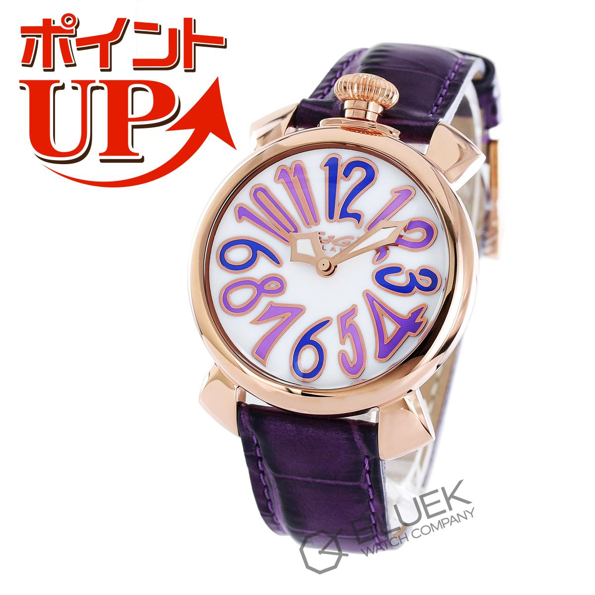 【ポイント5倍】ガガミラノ マヌアーレ40MM ユニセックス 5021.4