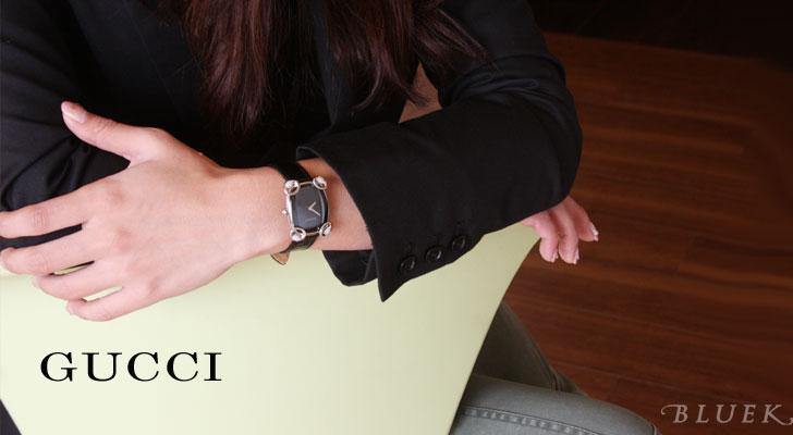 Gucci by GUCCI horsebit cocktail diamond ladies YA117505
