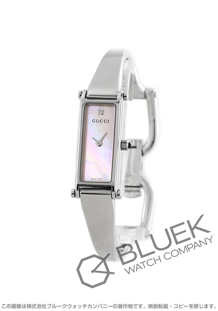 【1,000円OFFクーポン対象】グッチ バングル ダイヤ 腕時計 レディース GUCCI YA015554