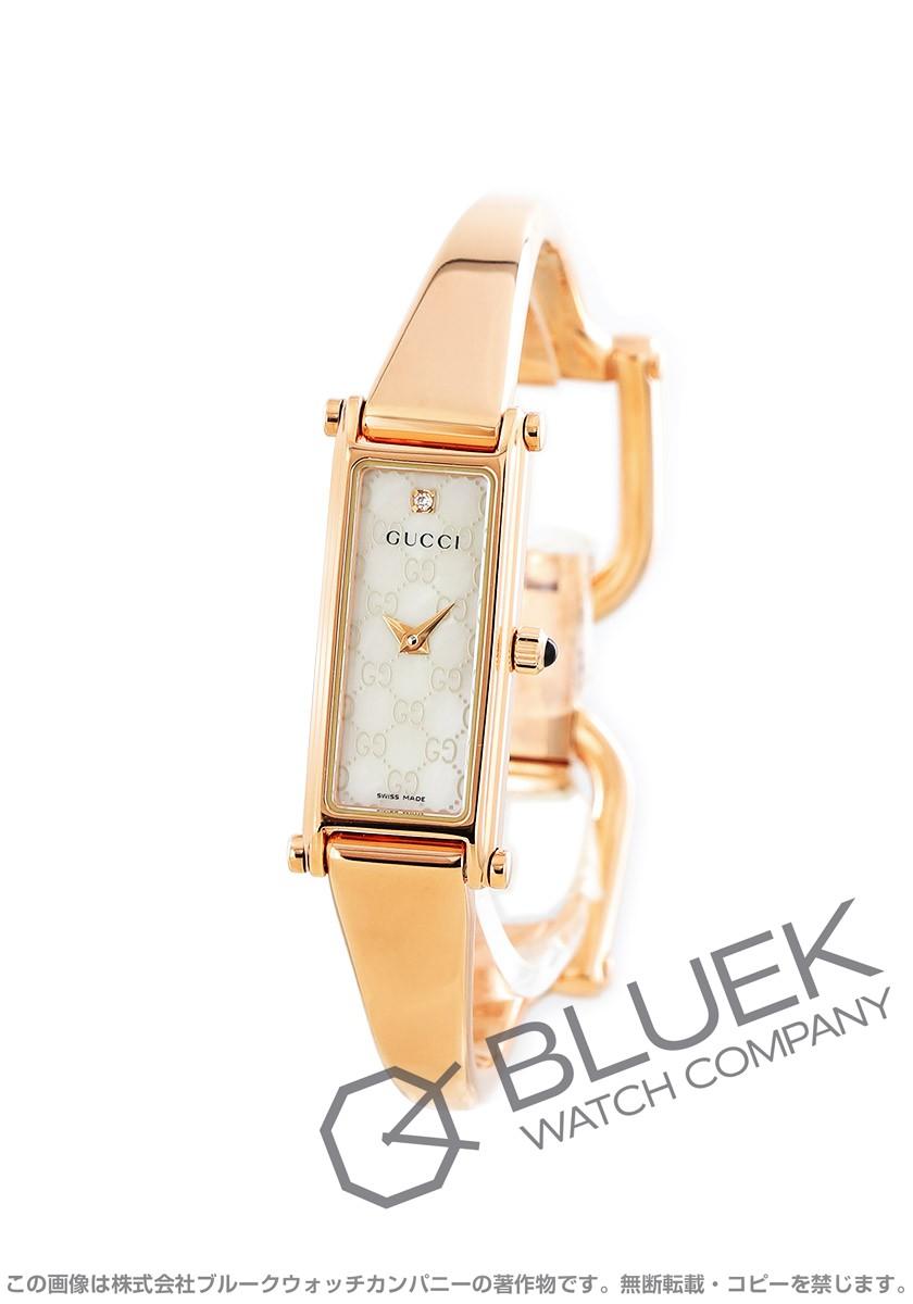 【1,000円OFFクーポン対象】グッチ バングル ダイヤ 腕時計 レディース GUCCI YA015560