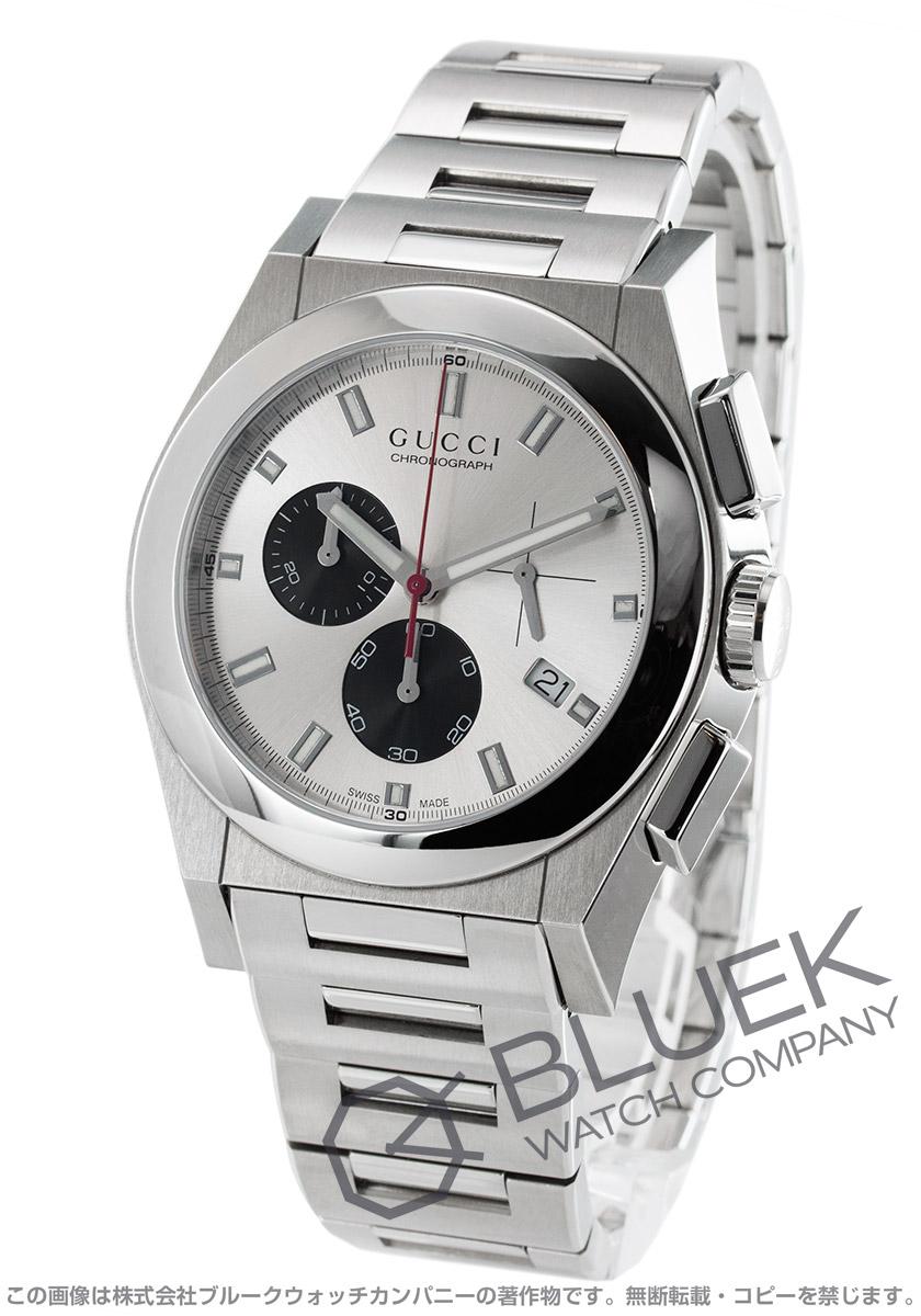 【3,000円OFFクーポン対象】グッチ パンテオン クロノグラフ 腕時計 メンズ GUCCI YA115236