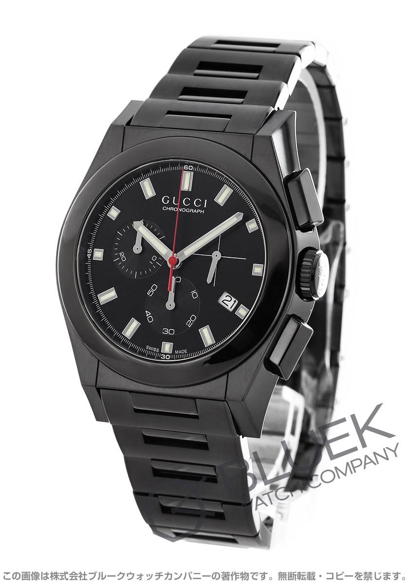 グッチ パンテオン クロノグラフ 腕時計 メンズ GUCCI YA115237