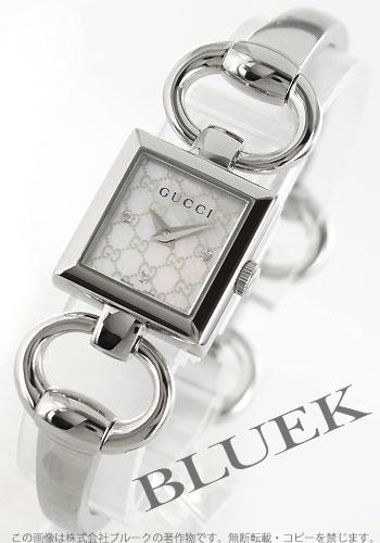 【1,000円OFFクーポン対象】グッチ トルナヴォーニ ダイヤ 腕時計 レディース GUCCI YA120517