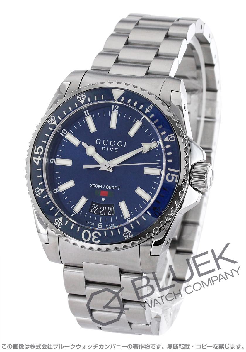 【最大3万円割引クーポン 11/01~】グッチ ダイヴ 腕時計 メンズ GUCCI YA136311