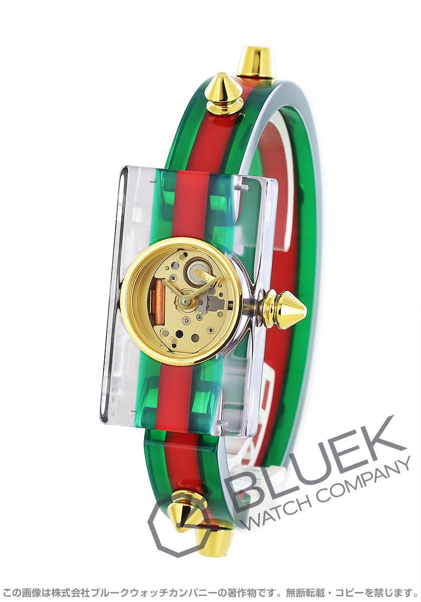 グッチ ヴィンテージ ウェブ スケルトン 腕時計 レディース GUCCI YA143504