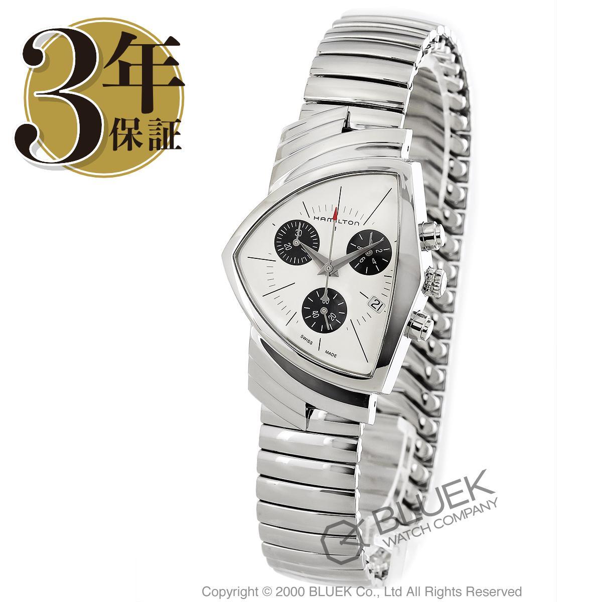 ハミルトン ベンチュラ クロノグラフ 腕時計 メンズ HAMILTON H24432151_3
