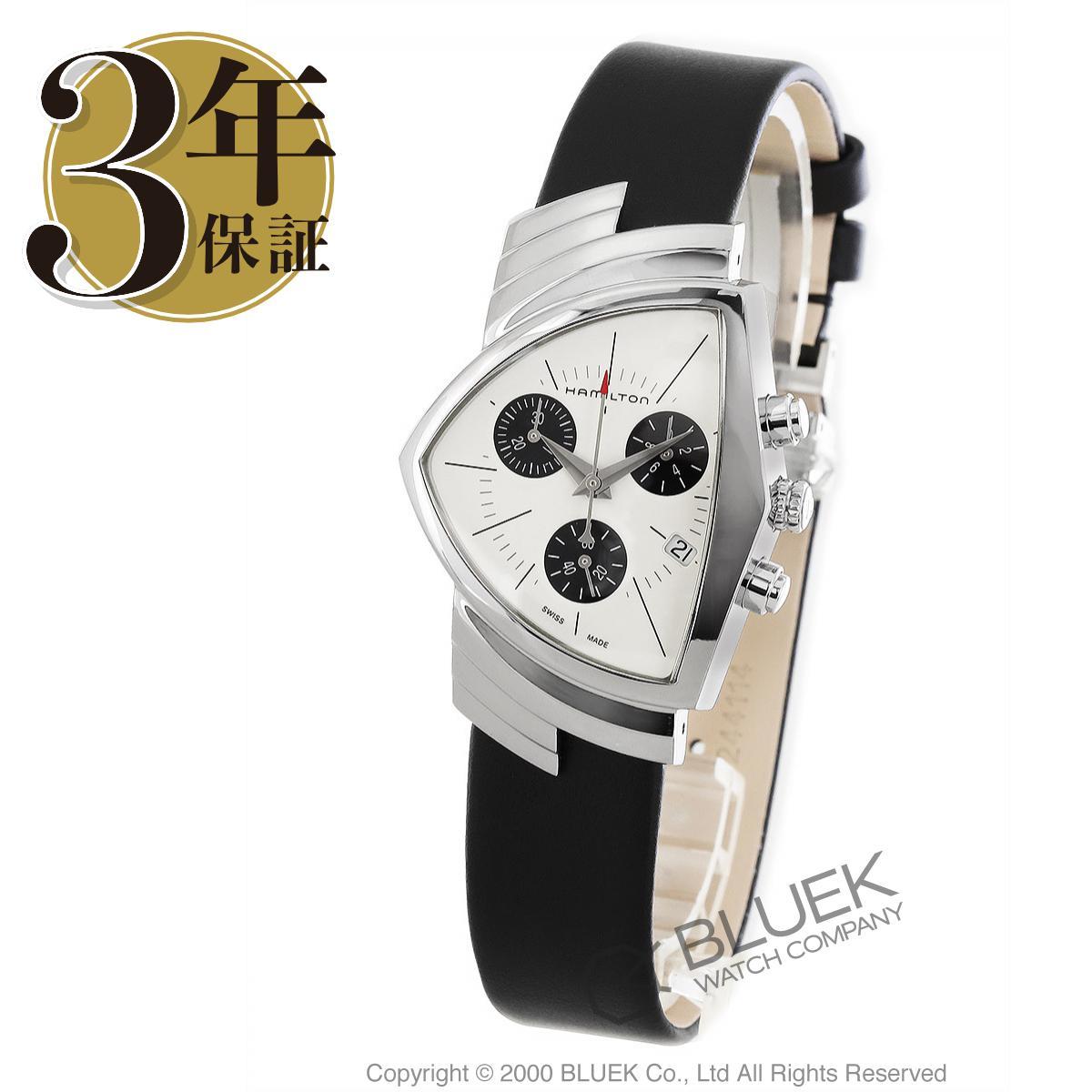 ハミルトン ベンチュラ クロノグラフ 腕時計 メンズ HAMILTON H24432751_3