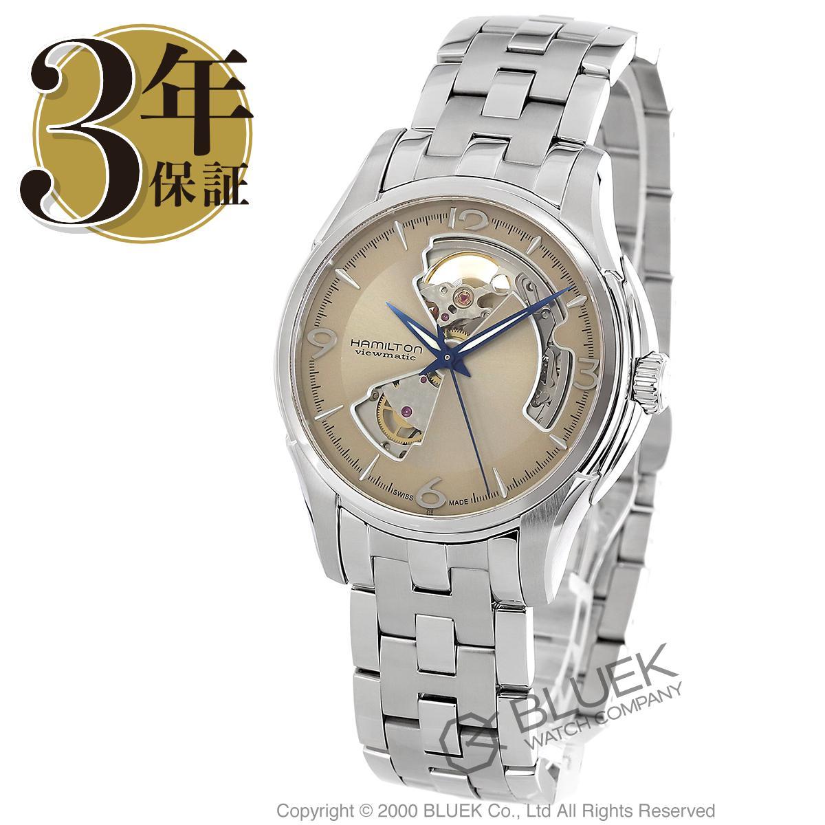 ハミルトン ジャズマスター ビューマチック オープンハート 腕時計 メンズ HAMILTON H32565121_8