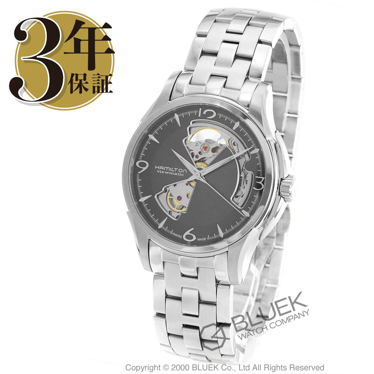 ハミルトン ジャズマスター ビューマチック オープンハート 腕時計 メンズ HAMILTON H32565185_3