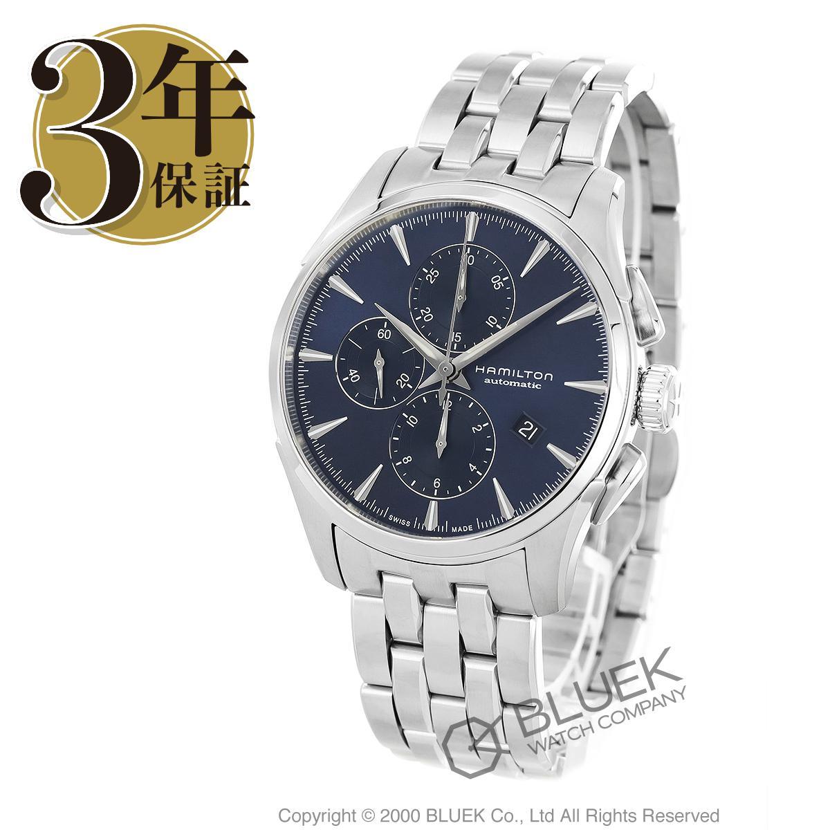 ハミルトン ジャズマスター オート クロノ クロノグラフ 腕時計 メンズ HAMILTON H32586141_3
