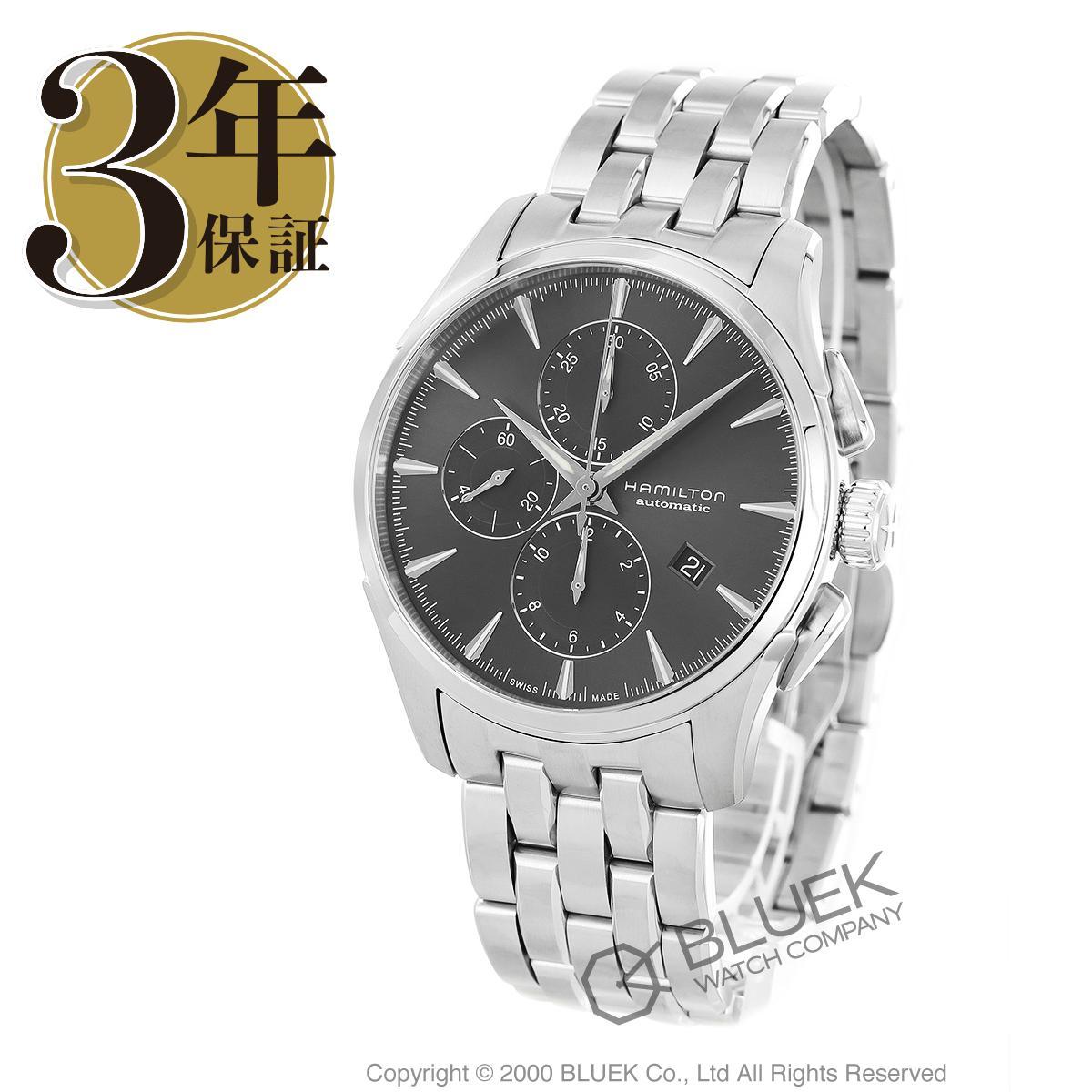 ハミルトン ジャズマスター オート クロノ クロノグラフ 腕時計 メンズ HAMILTON H32586181_3