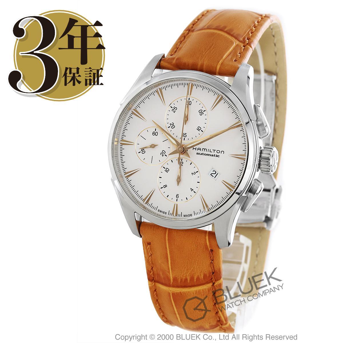 ハミルトン ジャズマスター オート クロノ クロノグラフ 腕時計 メンズ HAMILTON H32586511_3