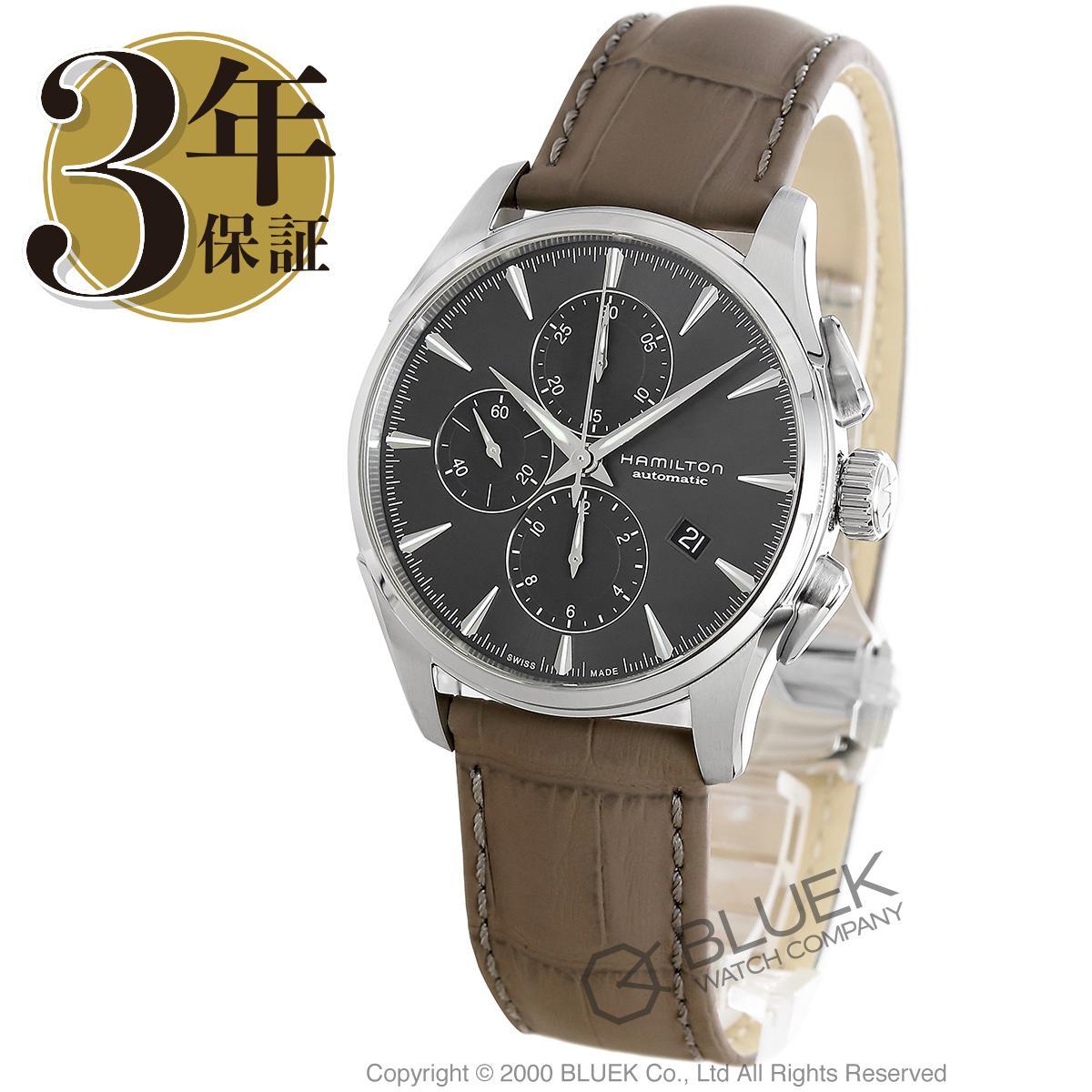 ハミルトン ジャズマスター オート クロノ クロノグラフ 腕時計 メンズ HAMILTON H32586881_3