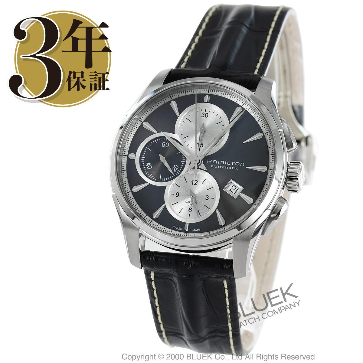 ハミルトン ジャズマスター オート クロノ クロノグラフ 腕時計 メンズ HAMILTON H32596781_3