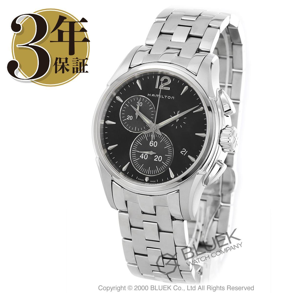 ハミルトン ジャズマスター クロノクオーツ クロノグラフ 腕時計 メンズ HAMILTON H32612131_3