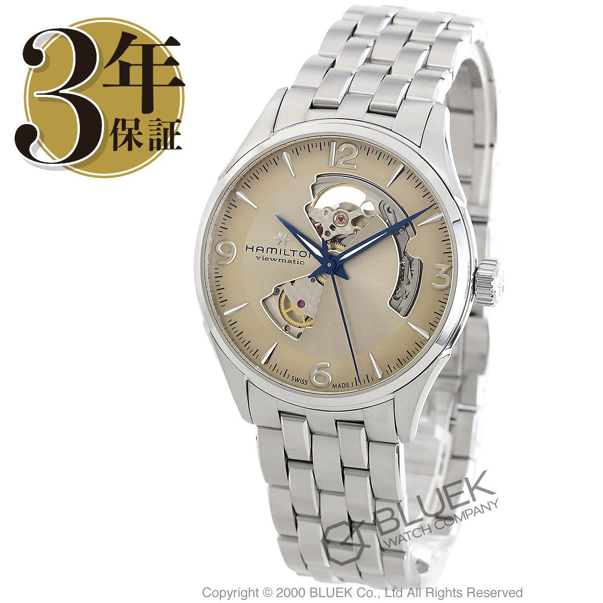 ハミルトン ジャズマスター ビューマチック オープンハート 腕時計 メンズ HAMILTON H32705121_3
