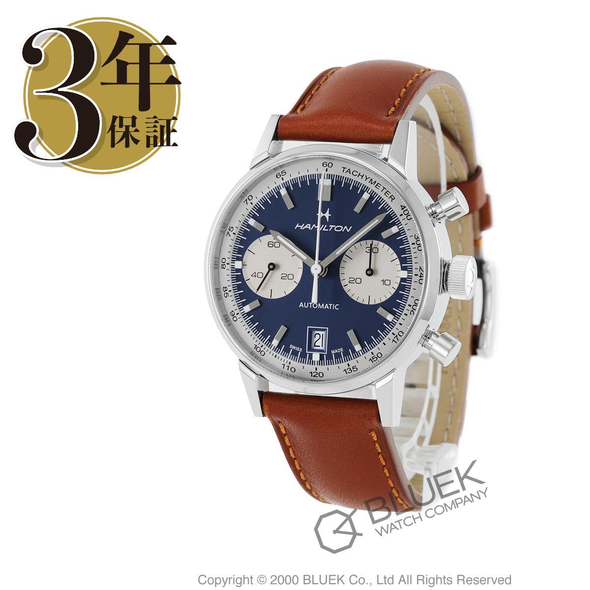 ハミルトン アメリカンクラシック イントラマティック クロノグラフ 腕時計 メンズ HAMILTON H38416541_3