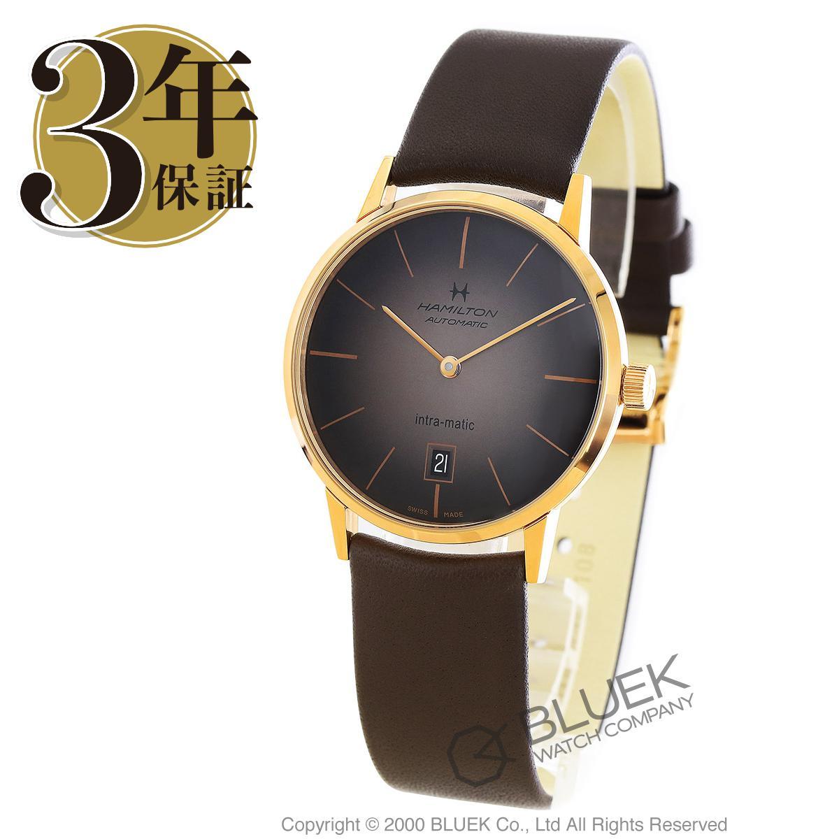 ハミルトン アメリカンクラシック イントラマティック 腕時計 メンズ HAMILTON H38465501_3