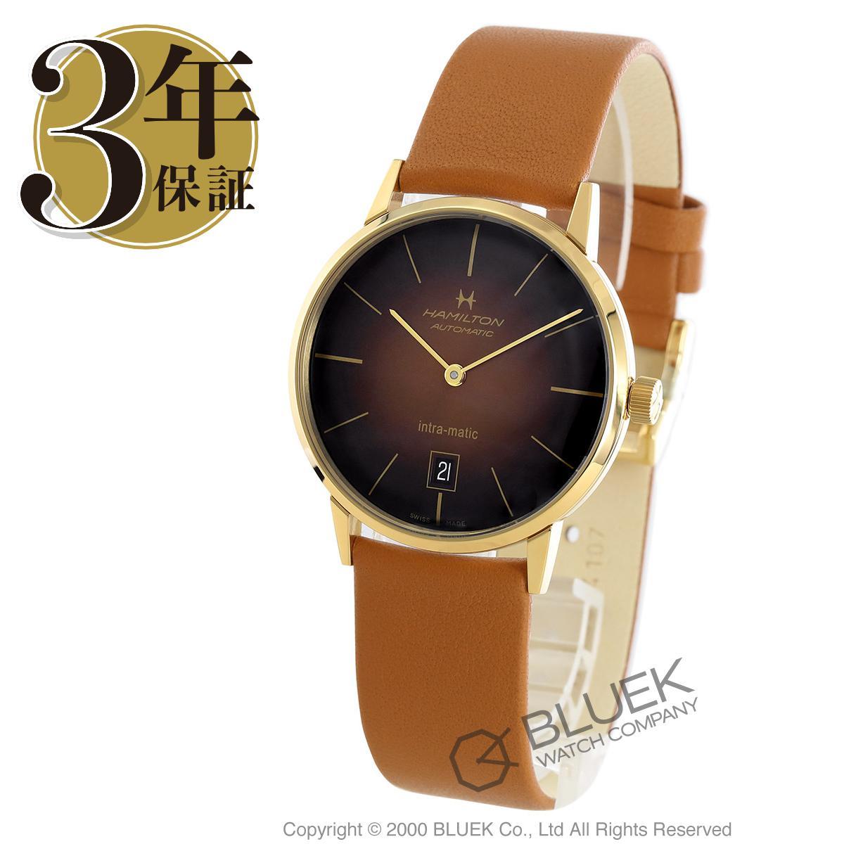 ハミルトン アメリカンクラシック イントラマティック 腕時計 メンズ HAMILTON H38475501_3