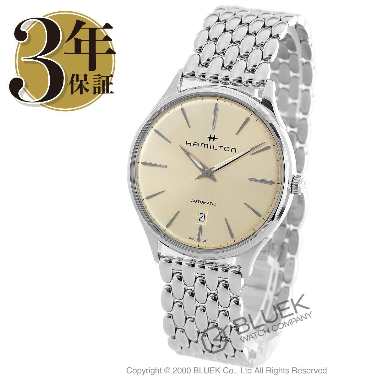 ハミルトン ジャズマスター シンライン オート 腕時計 メンズ HAMILTON H38525111_3