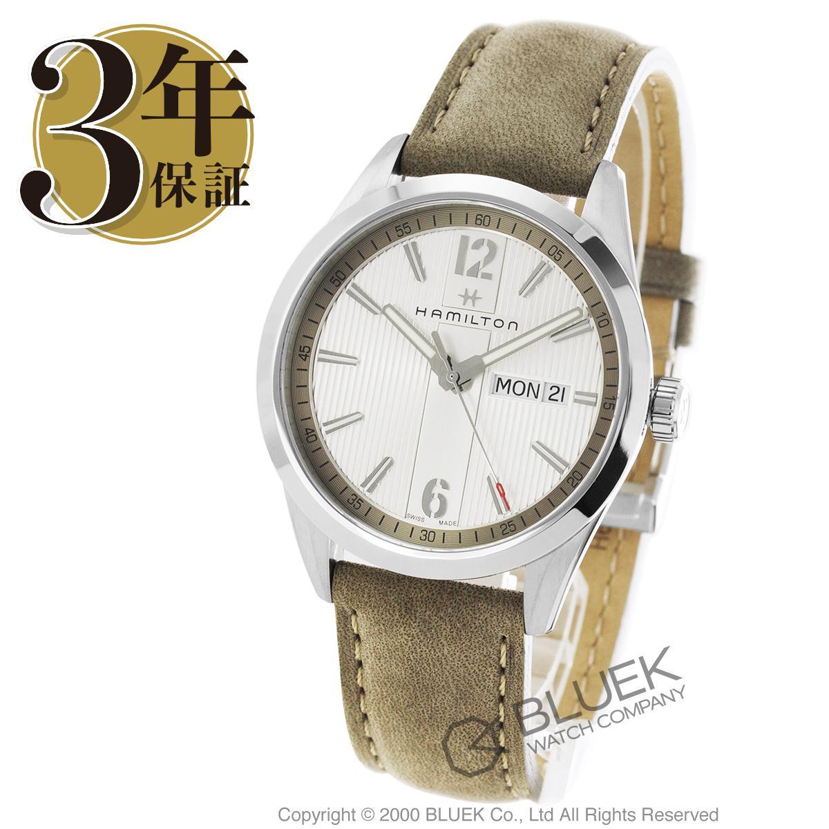 cf227ccde56b ハミルトンブロードウェイデイデイト腕時計メンズHAMILTONH43311915 ...
