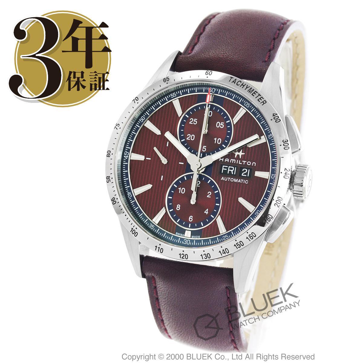 ハミルトン ブロードウェイ オート クロノ クロノグラフ 腕時計 メンズ HAMILTON H43516871_3