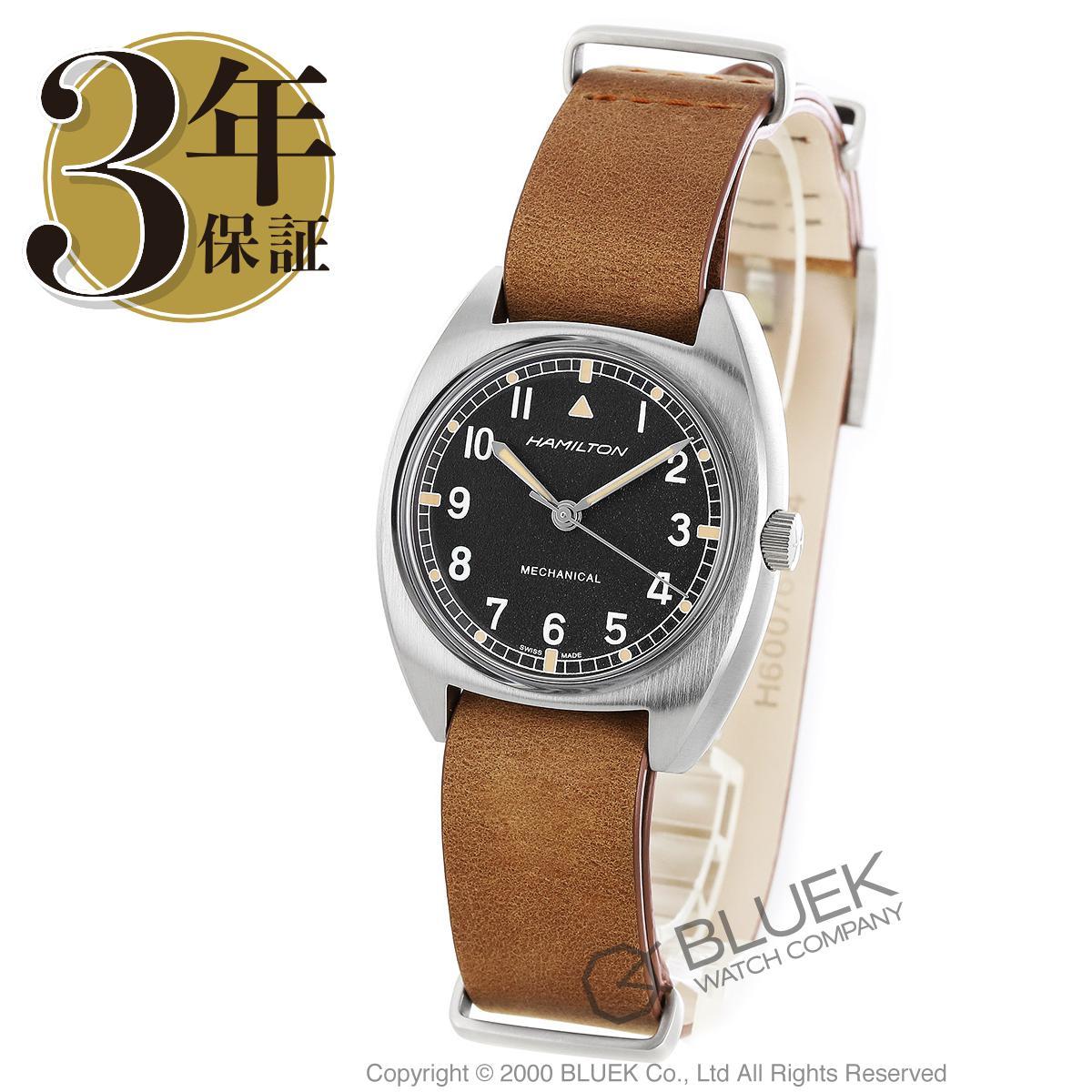 ハミルトン カーキ アビエーション パイロット パイオニア メカニカル 腕時計 ユニセックス HAMILTON H76419531_8
