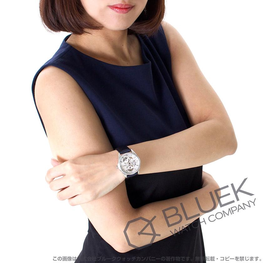 ハミルトン ジャズマスター ビューマチック スケルトン レディ ダイヤ サテンレザー 腕時計 レディース HAMILTON H42405991_8