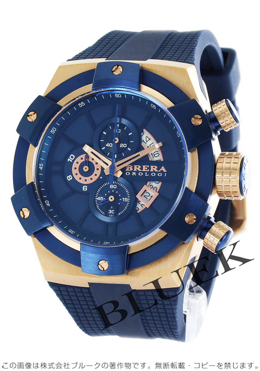 【1,000円OFFクーポン対象】ブレラ スーパー スポルティーボ クロノグラフ 腕時計 メンズ BRERA BRSSC4910